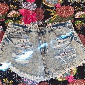 Forever 22 Jean shorts